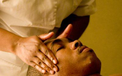 Hoofd, nek en schouders massage