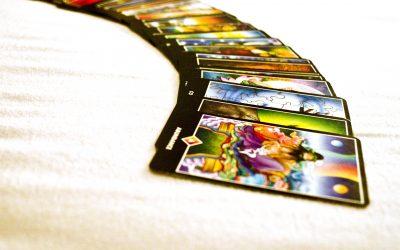Tarot kaart legging